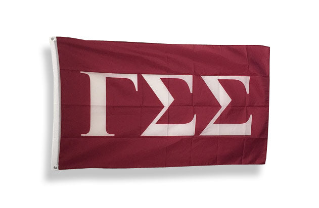 Gamma Sigma Sigma Big Flag