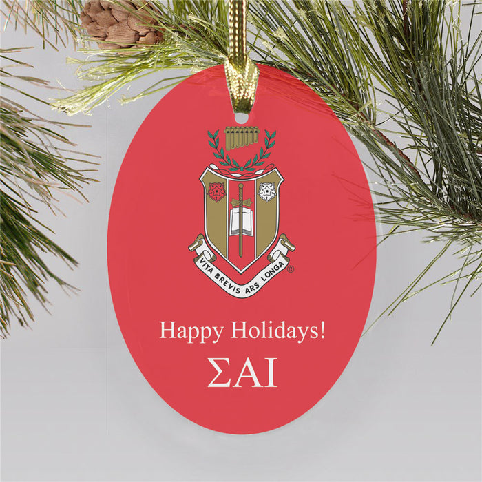 Sigma Alpha Iota Color Crest Ornament