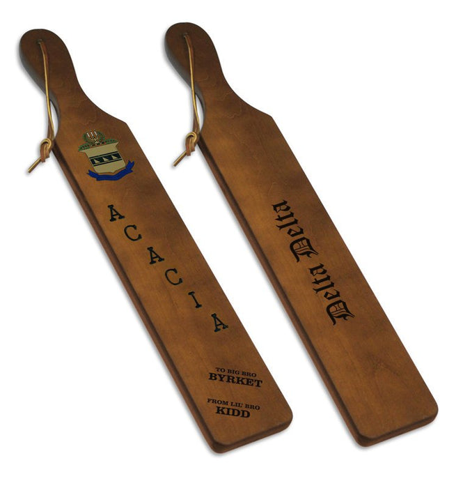 Acacia Traditional Paddle