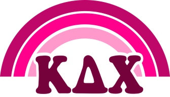 Kappa Delta Chi End of The Rainbow Sorority Decal