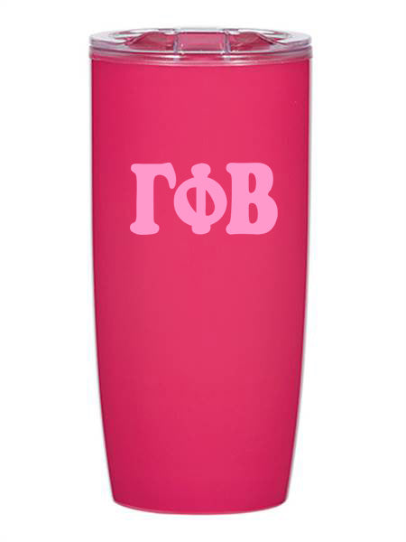 Gamma Phi Beta Cooper Letters 19 oz Everest Tumbler