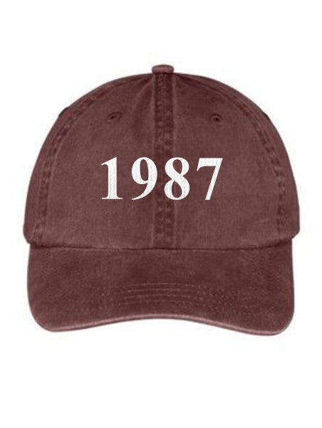 Kappa Delta Chi Year Established Embroidered Hat