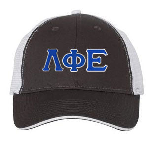 Lambda Phi Epsilon Greek Trucker Cap