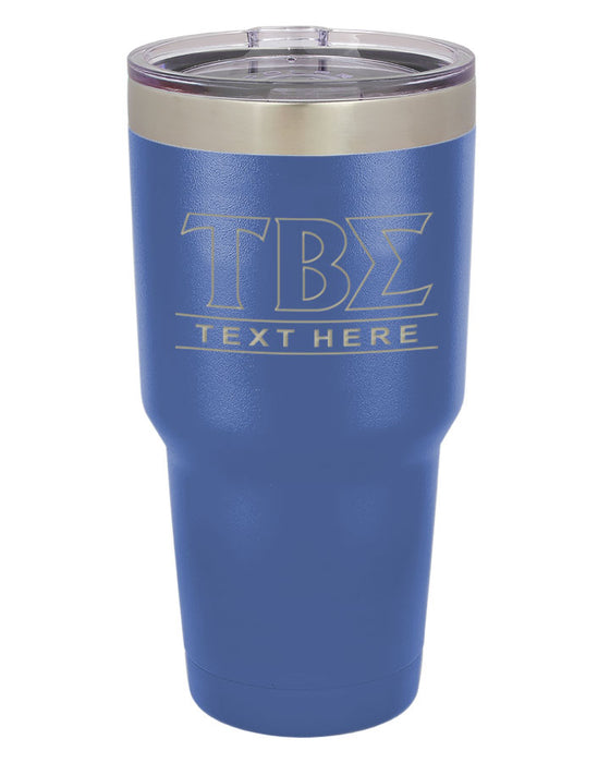 Tau Beta Sigma Vacuum Insulated Tumbler