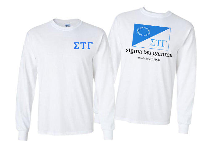 Sigma Tau Gamma Long Sleeve Flag Tee