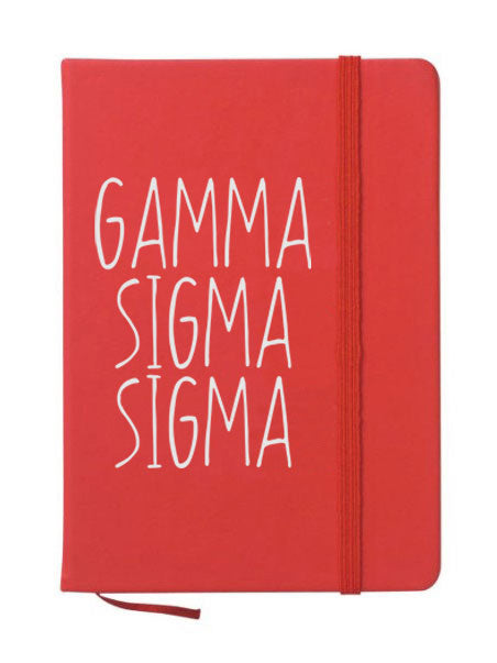 Gamma Sigma Sigma Mountain Notebook