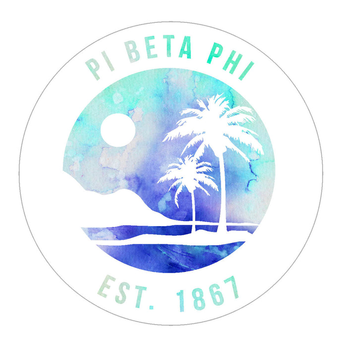 Pi Beta Phi Oasis Sticker