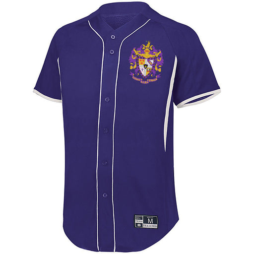 Sigma Alpha Epsilon 7 Full Button Baseball Jersey