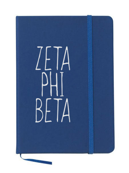 Zeta Phi Beta Mountain Notebook