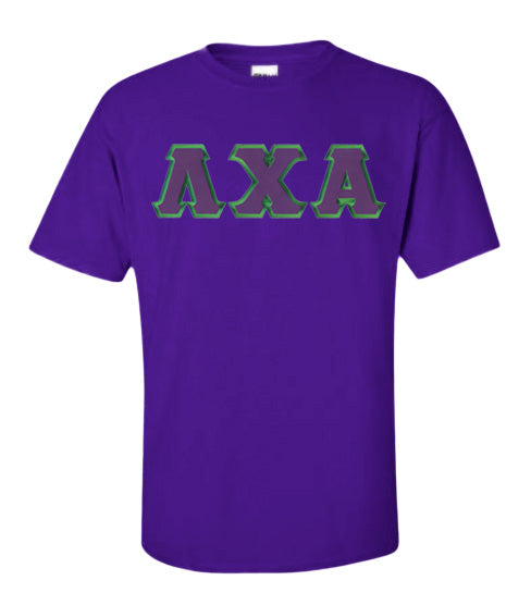 Lambda Chi Alpha Lettered T Shirt