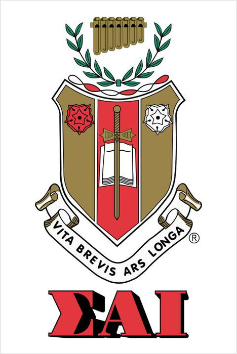Sigma Alpha Iota Crest Decal