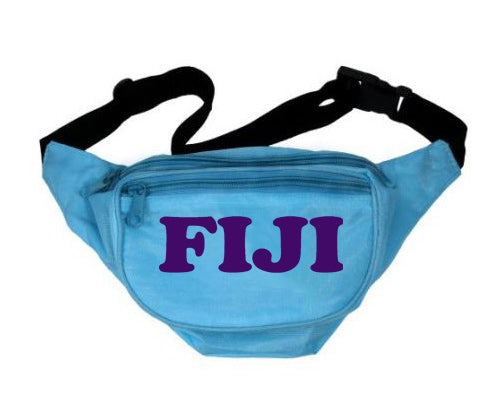 Phi Gamma Delta Letters Layered Fanny Pack