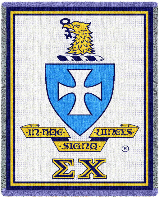 Sigma Chi Afghan Blanket Throw