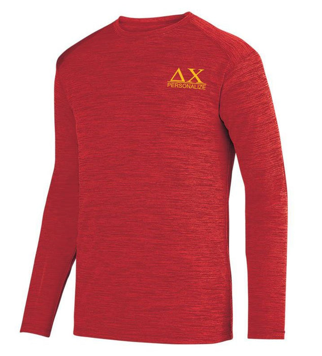Delta Chi $20 World Famous Dry Fit Tonal Long Sleeve Tee