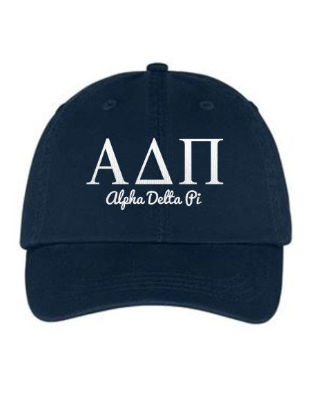Alpha Delta Pi Collegiate Curves Hat