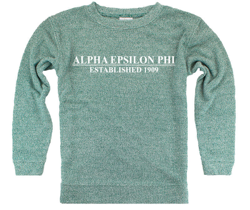 Alpha Epsilon Phi Year Established Cozy Sweater