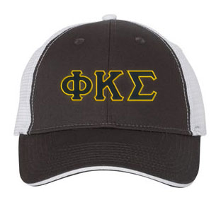 Phi Kappa Sigma Greek Trucker Cap