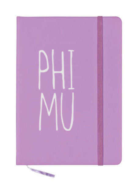Phi Mu Mountain Notebook