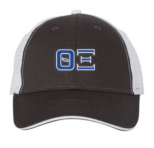 Theta Xi Greek Trucker Cap