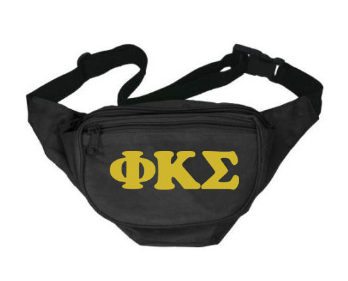 Phi Kappa Sigma Letters Layered Fanny Pack