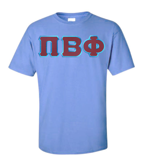 Pi Beta Phi Lettered T Shirt