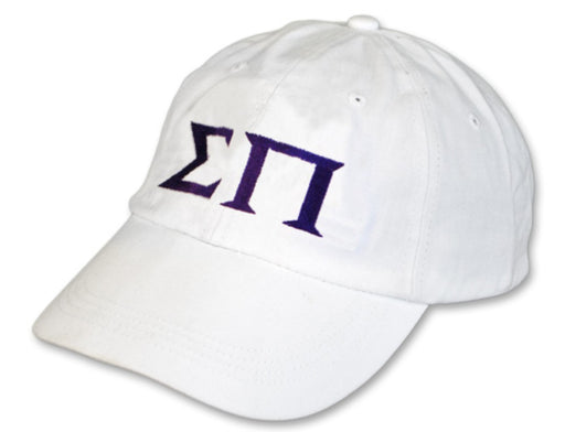 Sigma Pi Greek Letter Embroidered Hat
