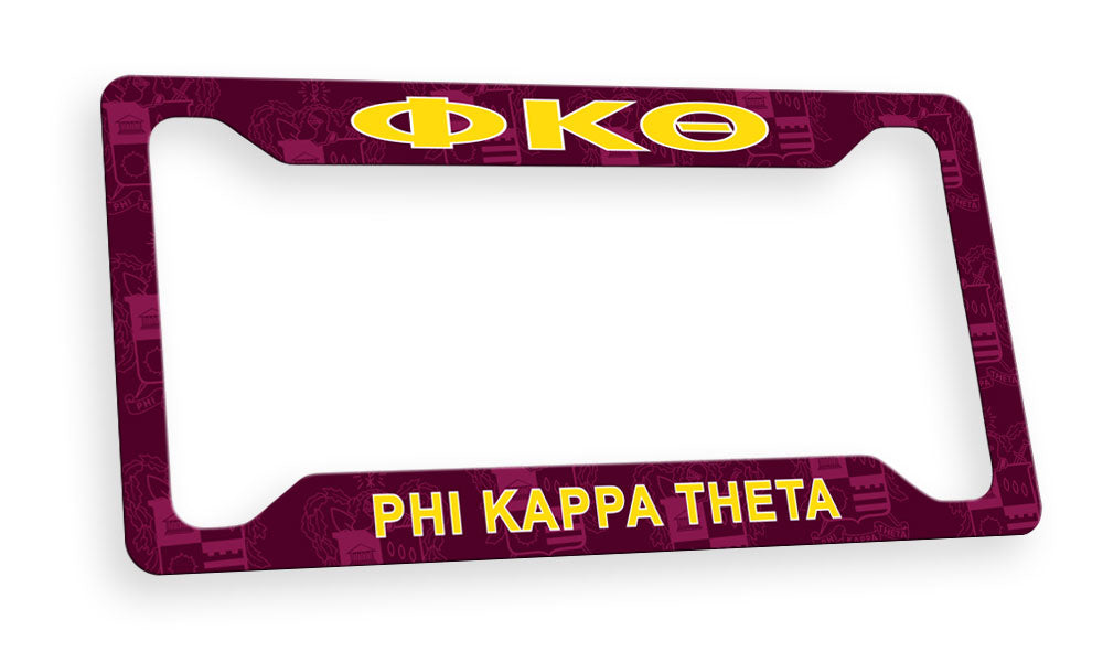 Phi Kappa Theta New License Plate Frame