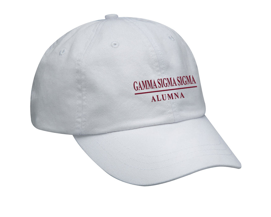 Gamma Sigma Sigma Custom Embroidered Hat