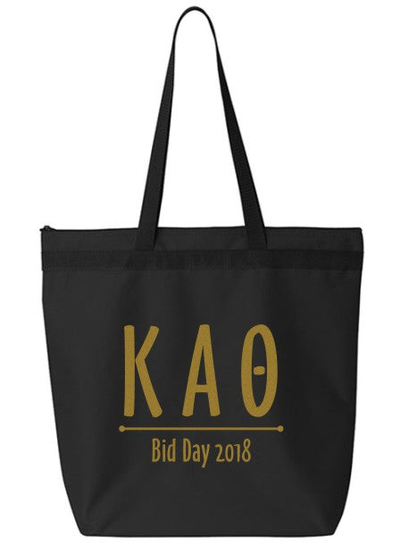 Kappa Alpha Theta Oz Letters Event Tote Bag