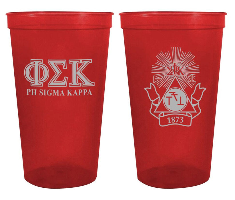 Phi Sigma Kappa Fraternity New Crest Stadium Cup