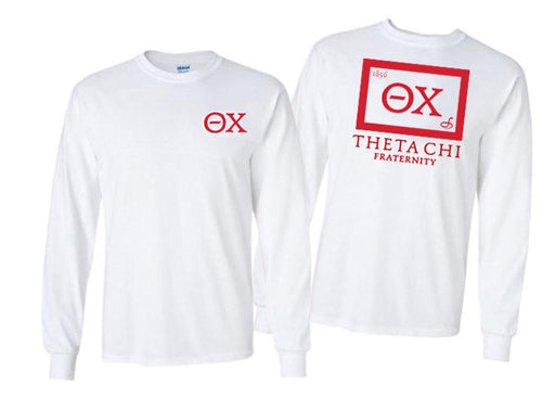 Theta Chi Long Sleeve Flag Tee