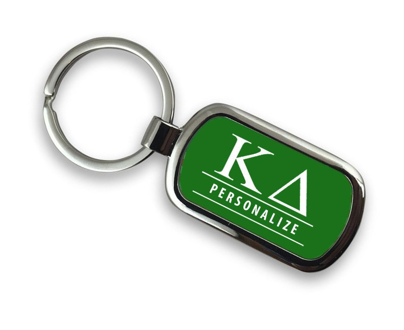 Kappa Delta Chrome Key Chain