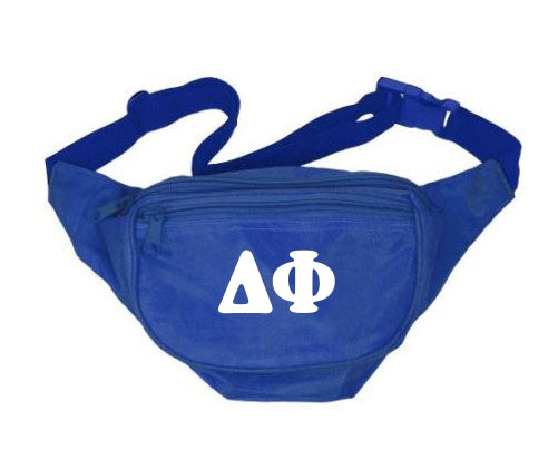 Delta Phi Letters Layered Fanny Pack