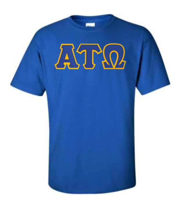 Alpha Tau Omega Lettered T Shirt