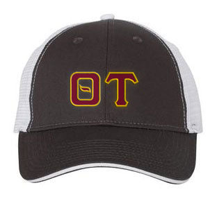 Theta Tau Greek Trucker Cap