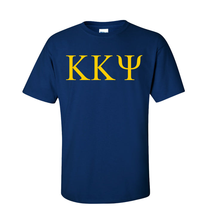 Kappa Kappa Psi Lettered Tee 9 95 Letter T-Shirt