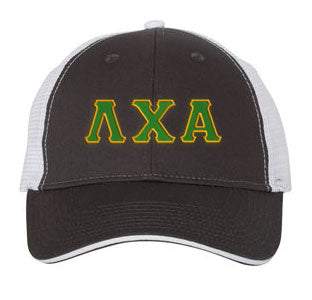 Lambda Chi Alpha Greek Trucker Cap