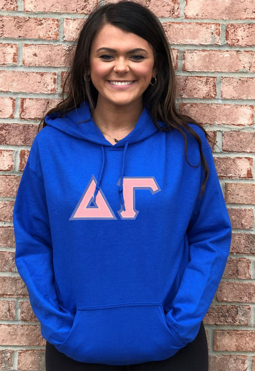 Delta Gamma Lettered Hoodie