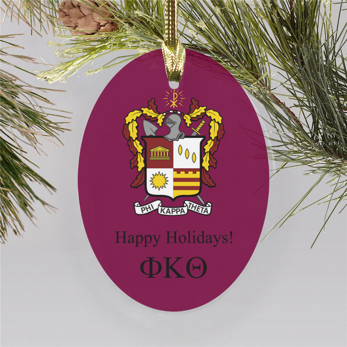 Phi Kappa Theta Color Crest Ornament