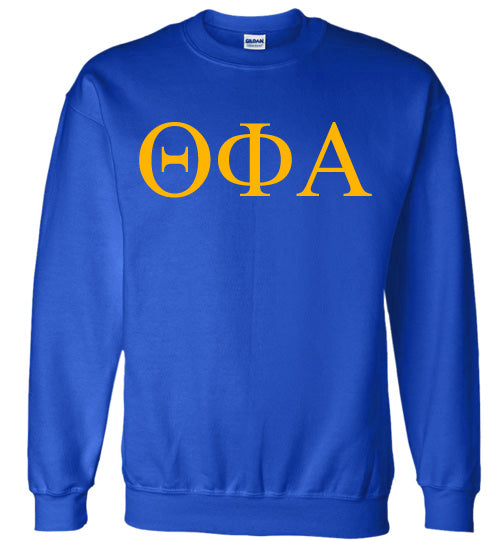 Theta Phi Alpha World Famous Lettered Crewneck Sweatshirt