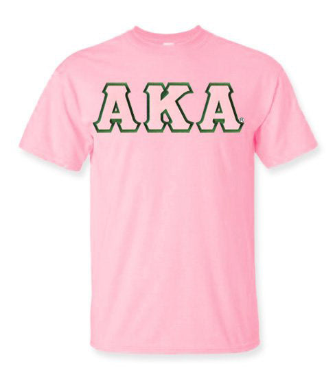 Alpha Kappa Alpha Lettered T Shirt