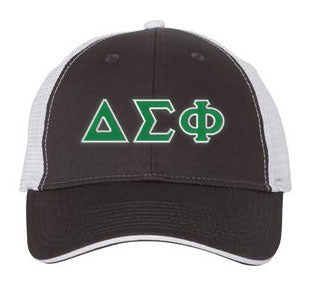 Delta Sigma Phi Greek Trucker Cap