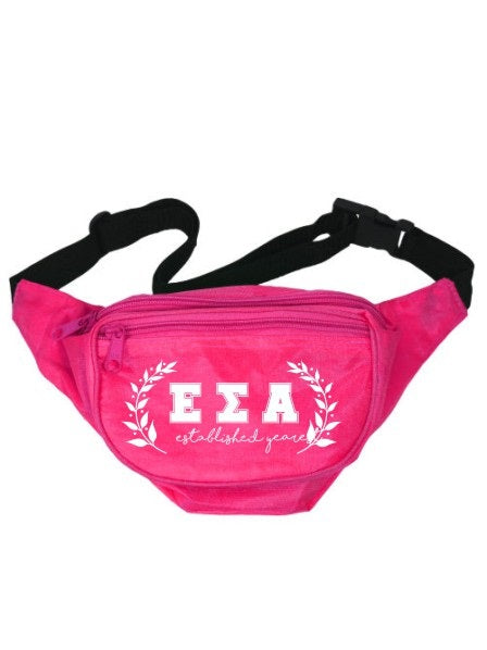 Epsilon Sigma Alpha Laurel Fanny Pack