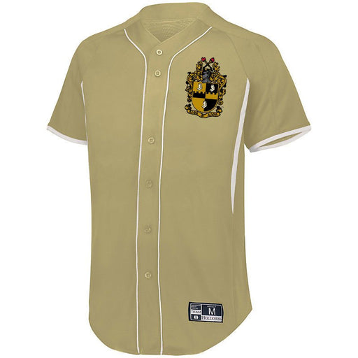 Alpha Phi Alpha 7 Full Button Baseball Jersey