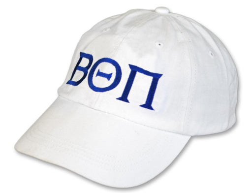 Beta Theta Pi Greek Letter Embroidered Hat