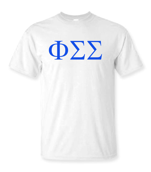 Phi Sigma Sigma Letter T-Shirt