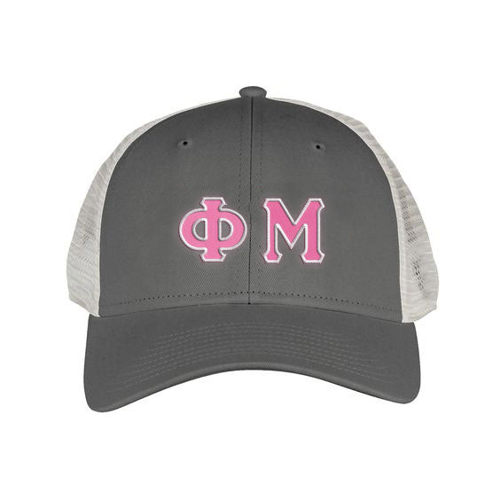 Phi Mu Greek Trucker Cap