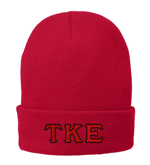 Tau Kappa Epsilon Lettered Knit Cap