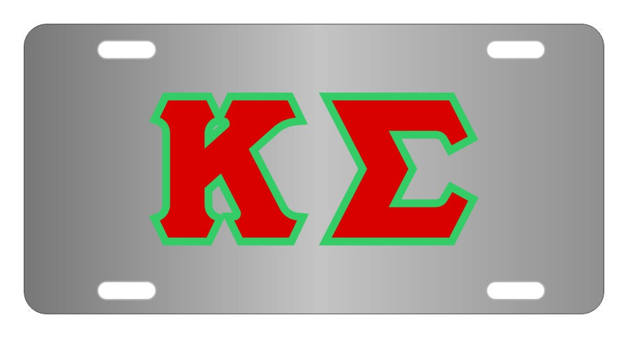 Kappa Sigma Fraternity License Plate Cover