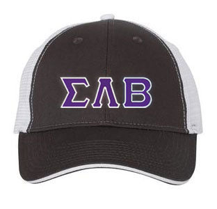 Sigma Lambda Beta Greek Trucker Cap